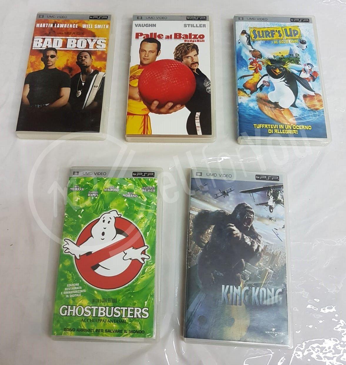 sellforyou immagine articolo Lotto di 5 film per PSP