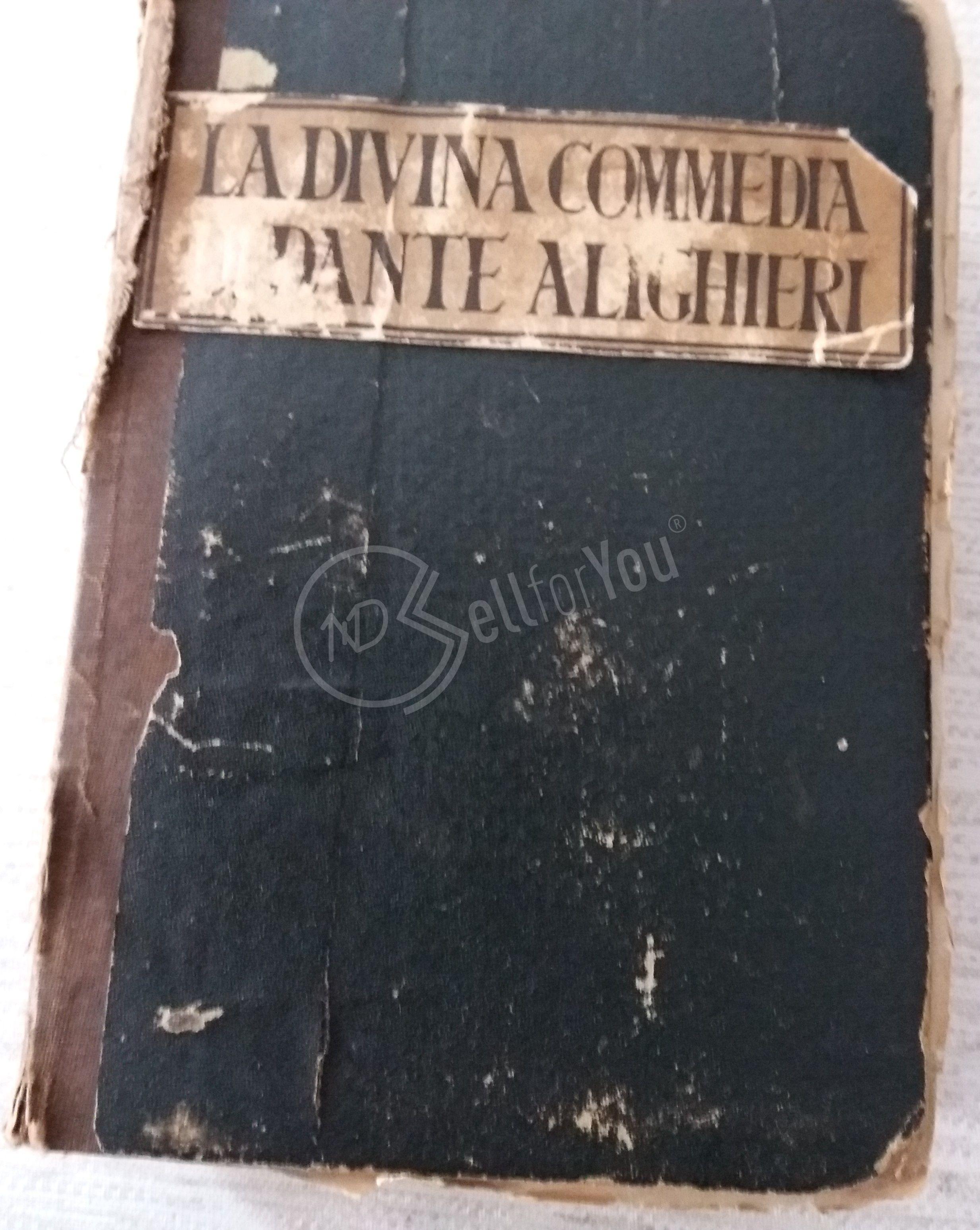 sellforyou immagine articolo Antica Divina Commedia di Dante Alighieri