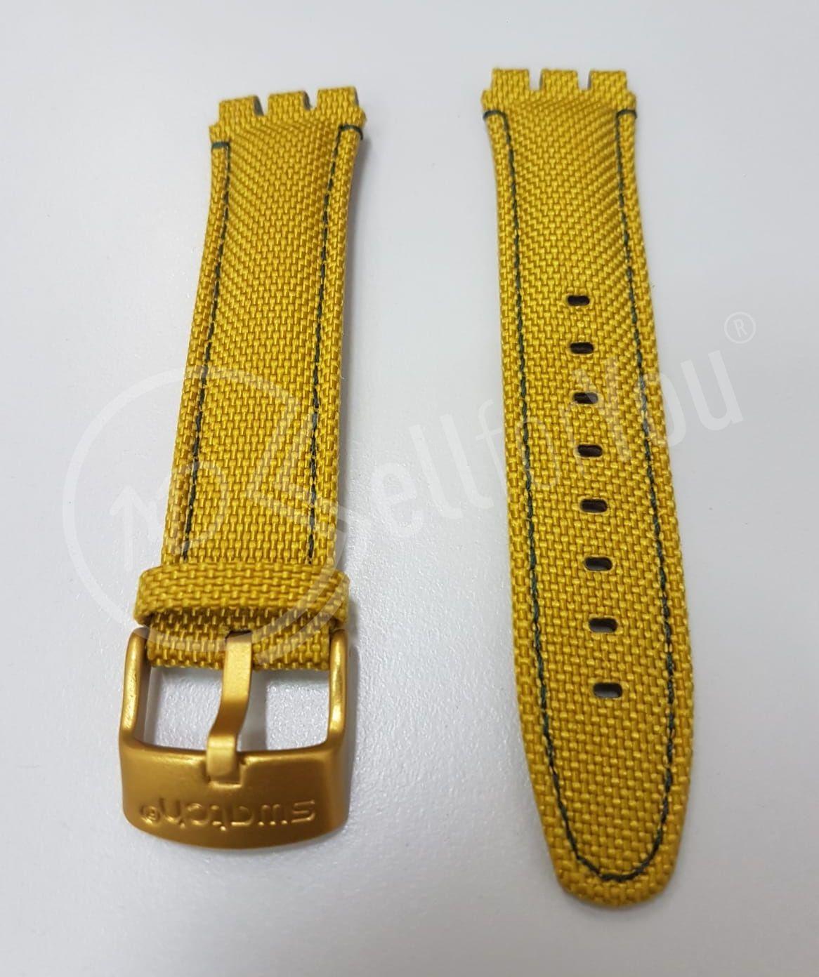 sellforyou immagine articolo Cinturino orologio Swatch ASVCK4069 Mustardy