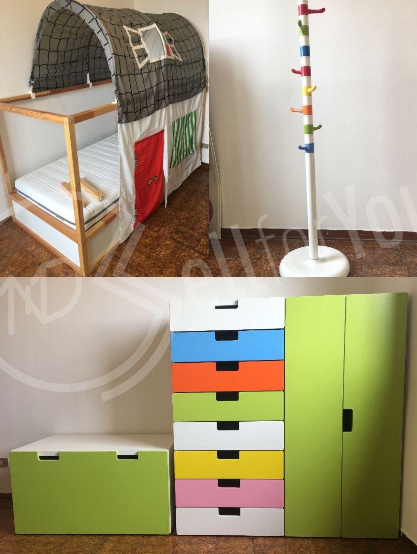 sellforyou immagine articolo Lotto di mobili per cameretta