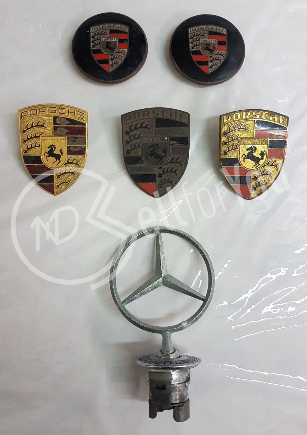 sellforyou immagine default articolo correlato non trovatoStemmi auto Porsche e Mercedes