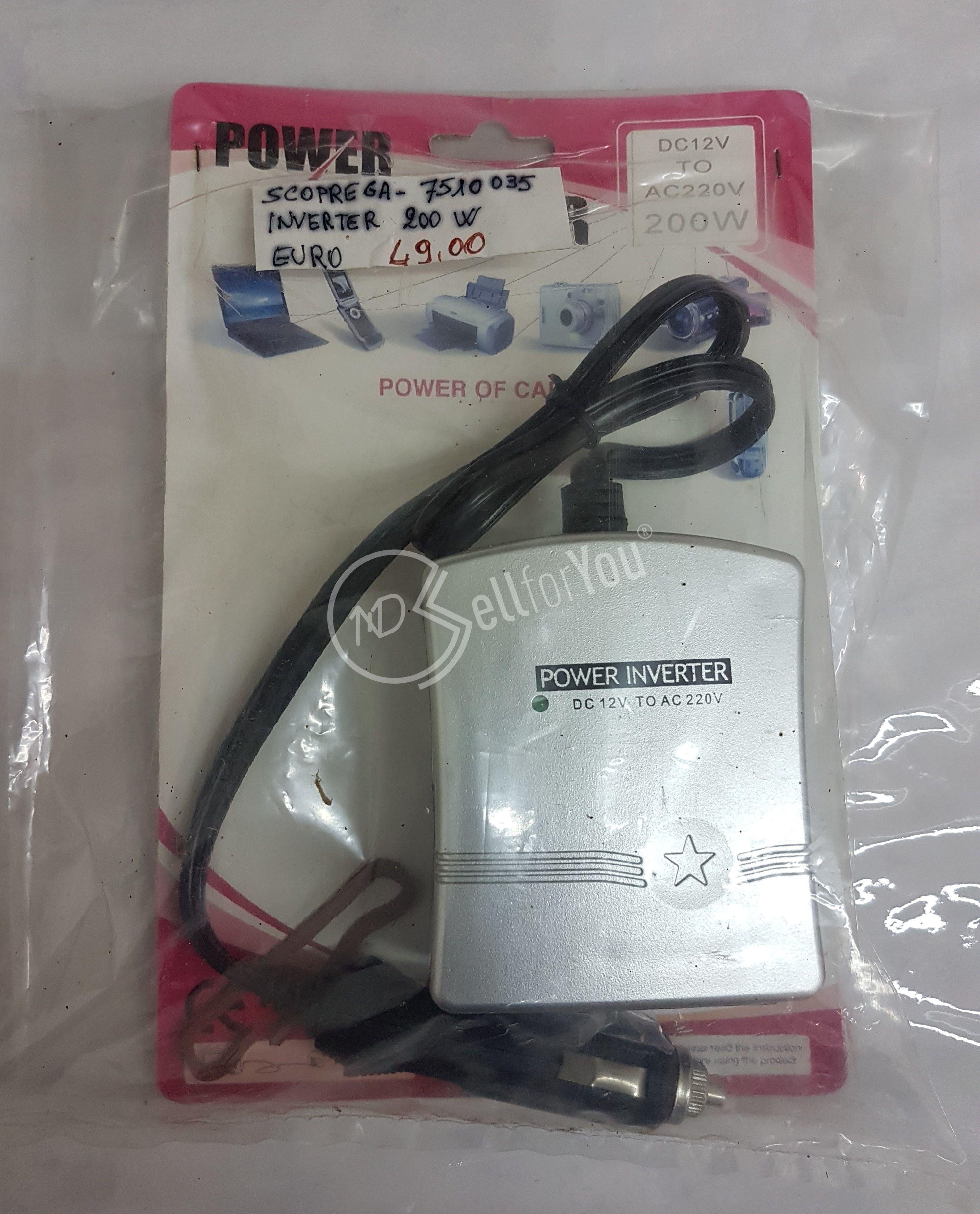 sellforyou immagine default articolo correlato non trovatoPower inverter 200W Scoprega