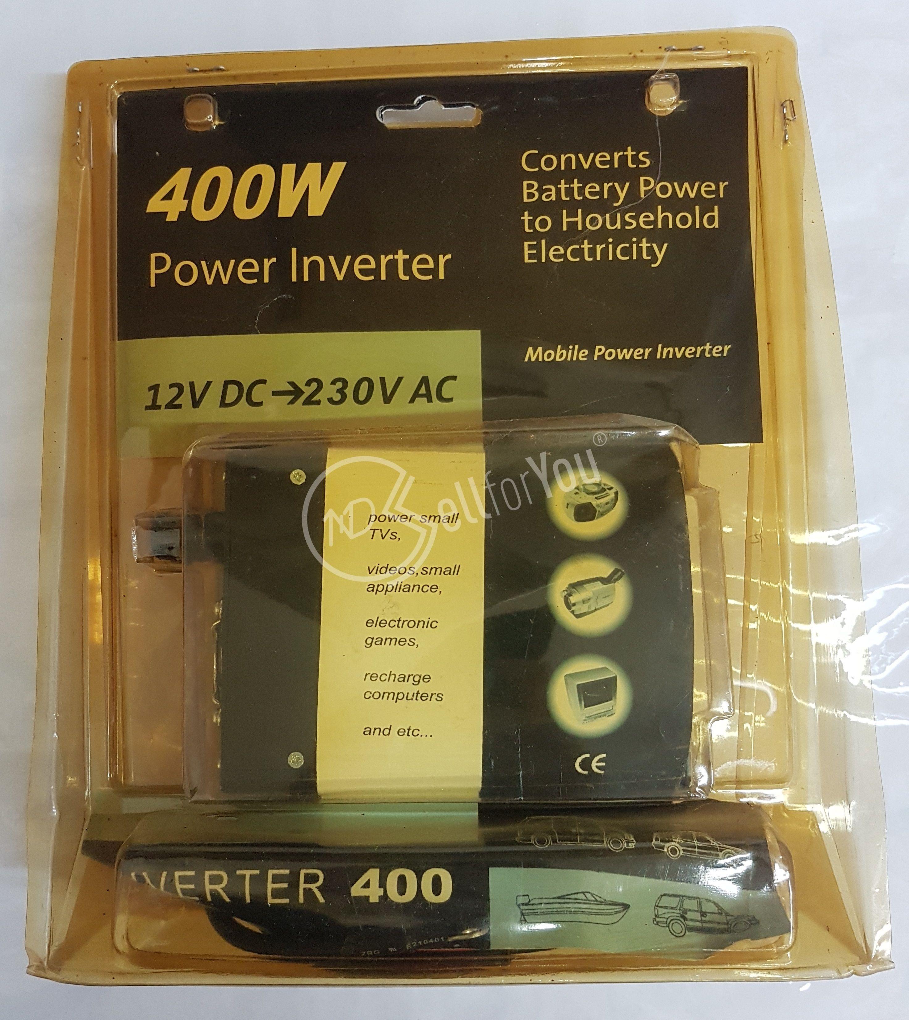 sellforyou immagine default articolo correlato non trovatoPower inverter 400W Scoprega