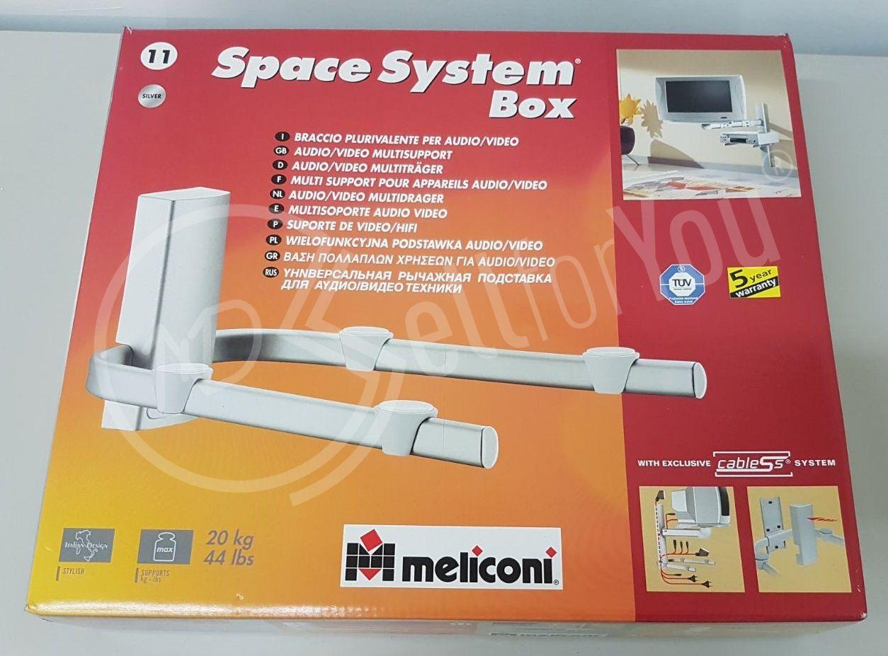 sellforyou immagine default articolo correlato non trovatoSupporto per audio/video Space System Box Meliconi