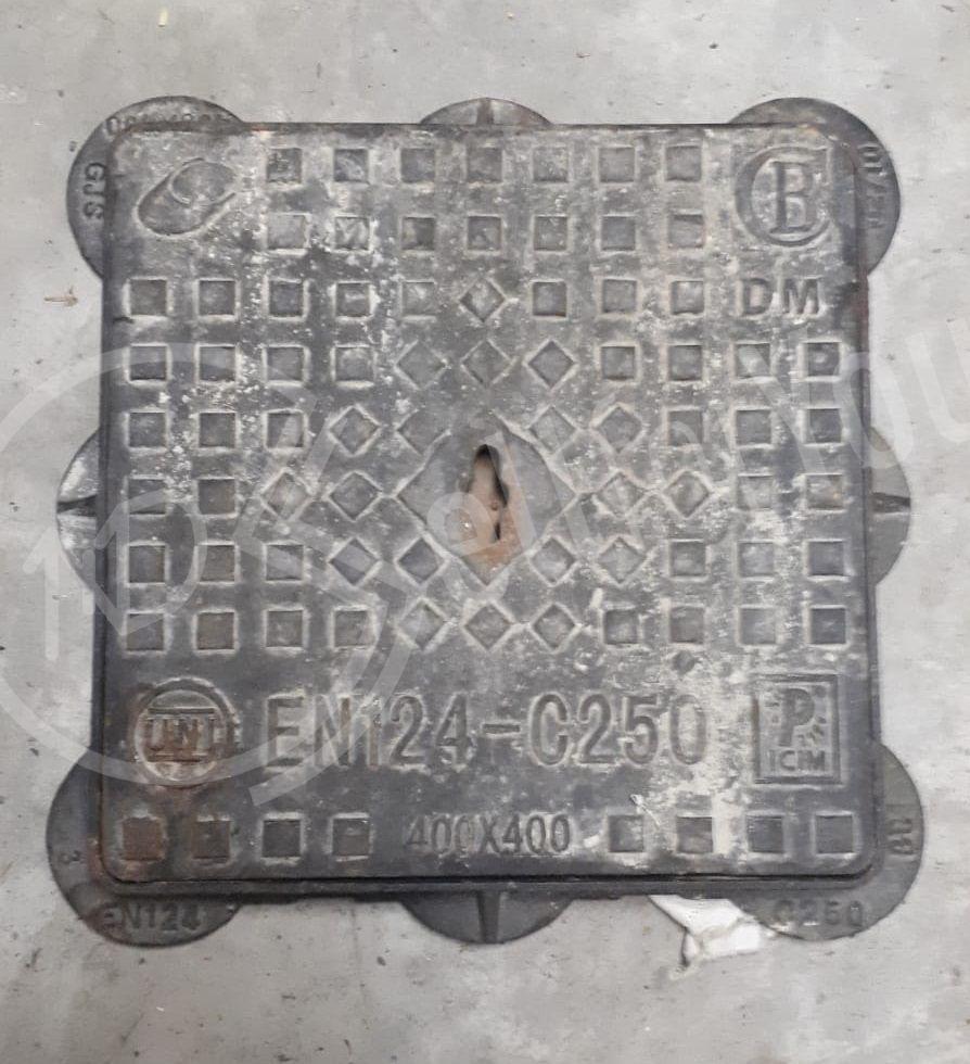 sellforyou immagine default articolo correlato non trovatoTombino chiusino in ghisa EN124-C250 40 x 40 cm