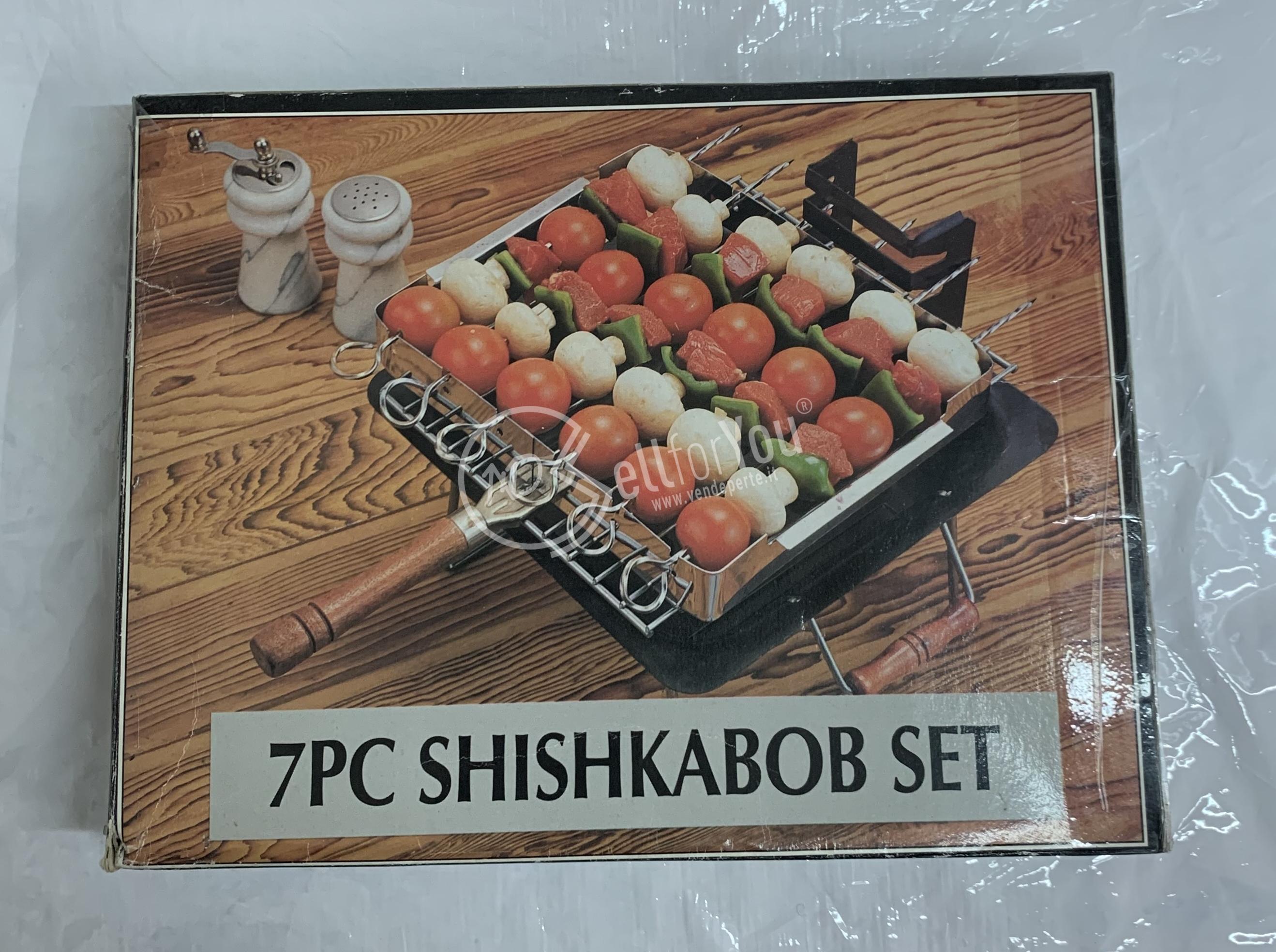 sellforyou immagine default articolo correlato non trovatoBase griglia con spiedi '' Shishkabob set''