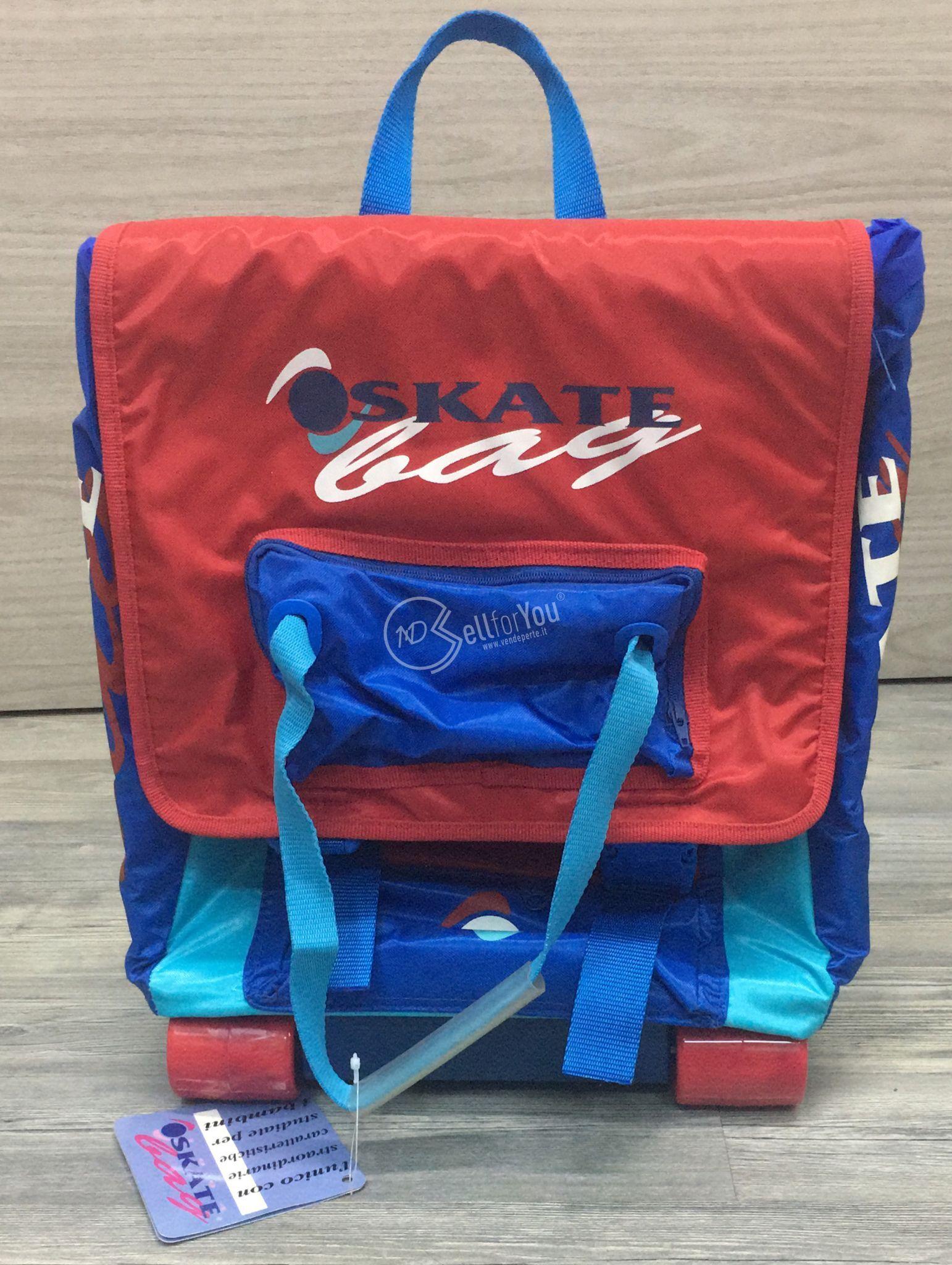 sellforyou immagine default articolo correlato non trovatoZaino scuola bambino Skate Bag rosso e blu
