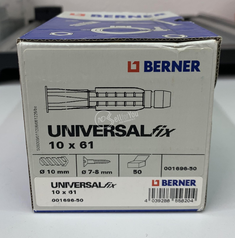 sellforyou immagine default articolo correlato non trovatoBerner Universal fix 10 x 61 cod. 001696-50