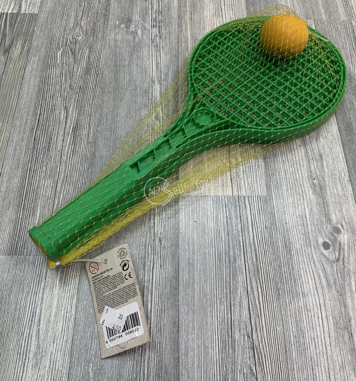 sellforyou immagine default articolo correlato non trovatoCoppia di racchette in plastica Androni Giocattoli con pallina
