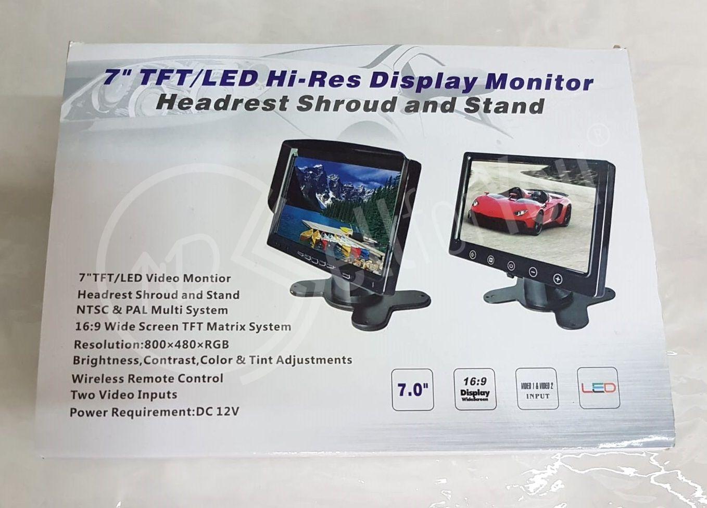 sellforyou immagine default articolo correlato non trovatoMonitor LCD 7'' con telecomando