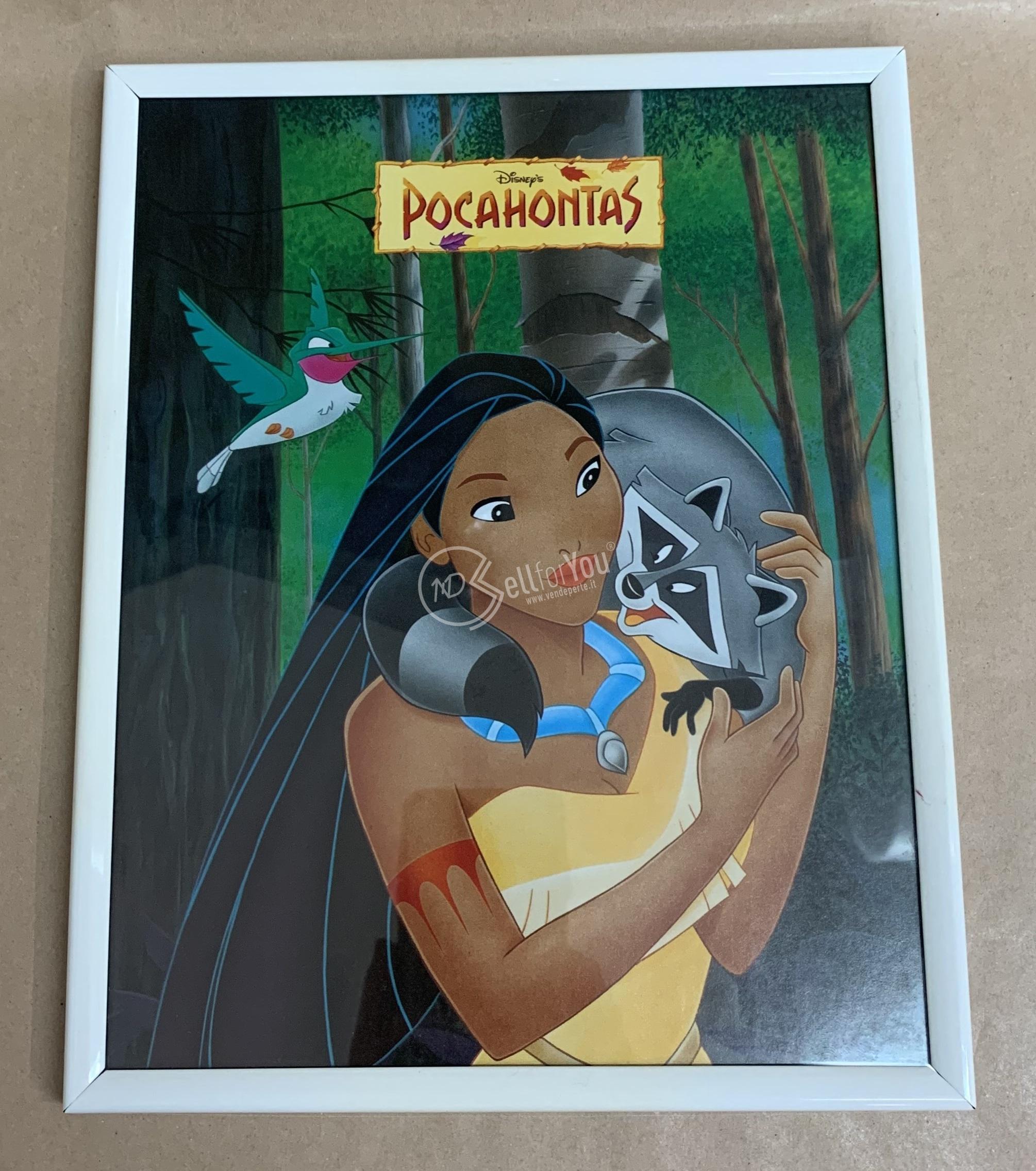 sellforyou immagine default articolo correlato non trovatoQuadro di Pocahontas - Disney's 26x21 cm