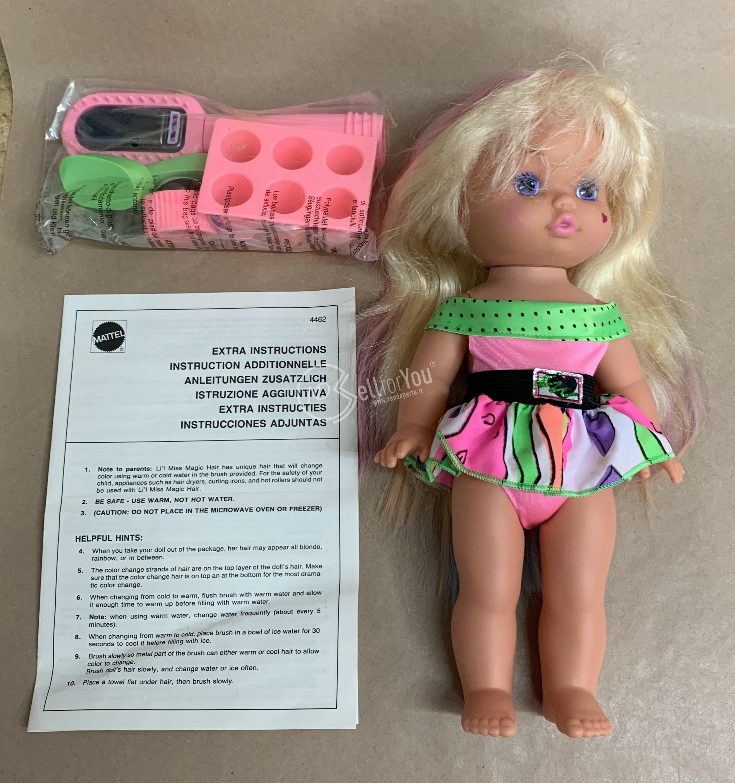 sellforyou immagine default articolo correlato non trovatoBambola Lil Miss Magic Hair con scatola - Mattel