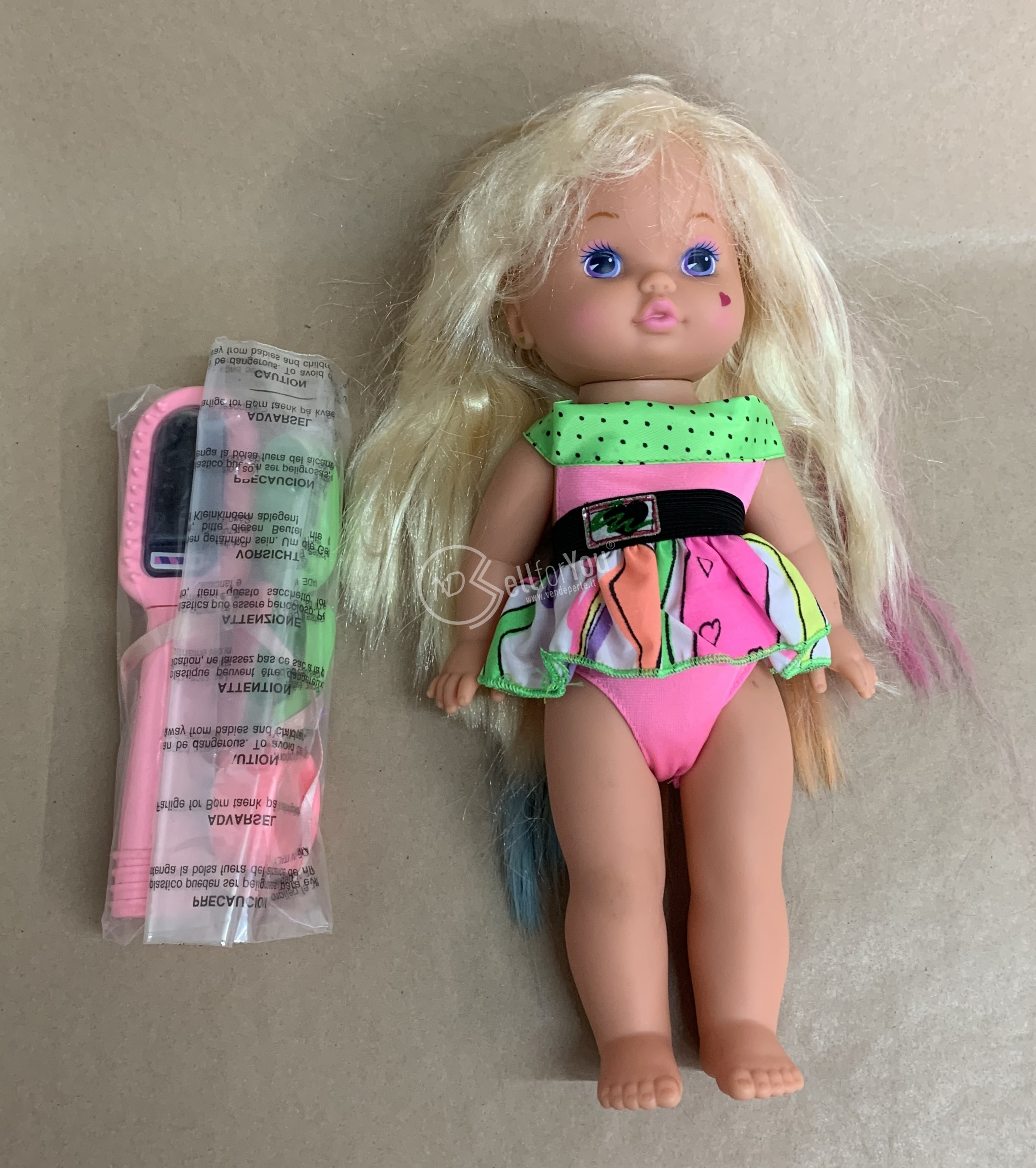 sellforyou immagine default articolo correlato non trovatoBambola Lil Miss Magic Hair  - Mattel