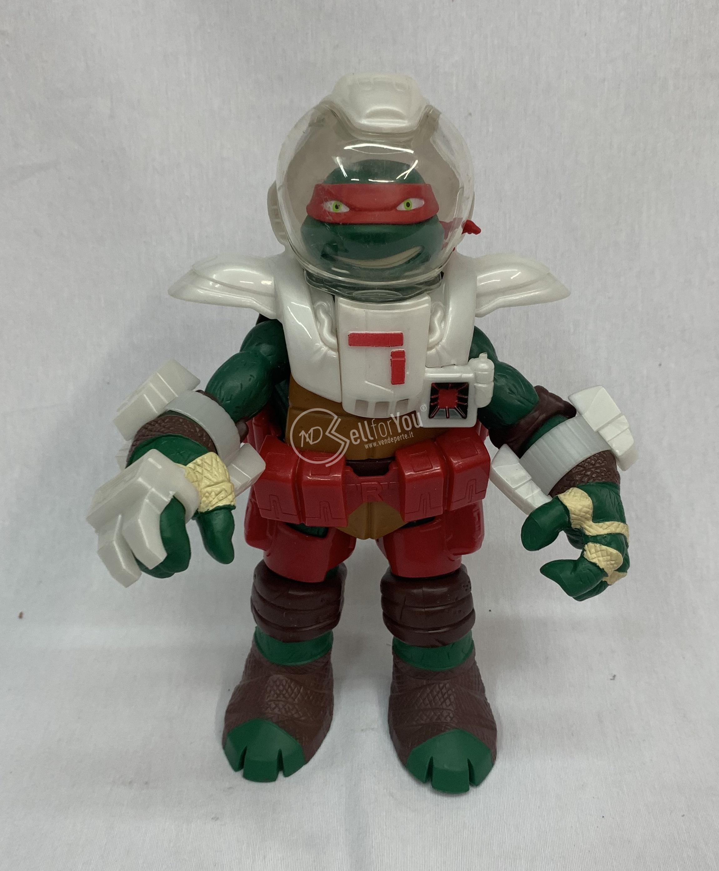 sellforyou immagine default articolo correlato non trovatoTartaruga ninja Raffaello astronauta action figure