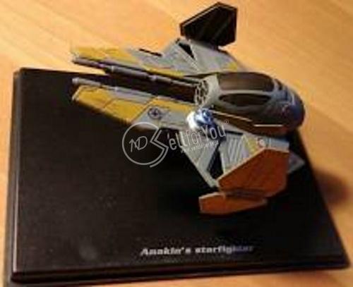 sellforyou immagine default articolo correlato non trovatoStar Wars Starfighter di Anakin DeAgostini 91005