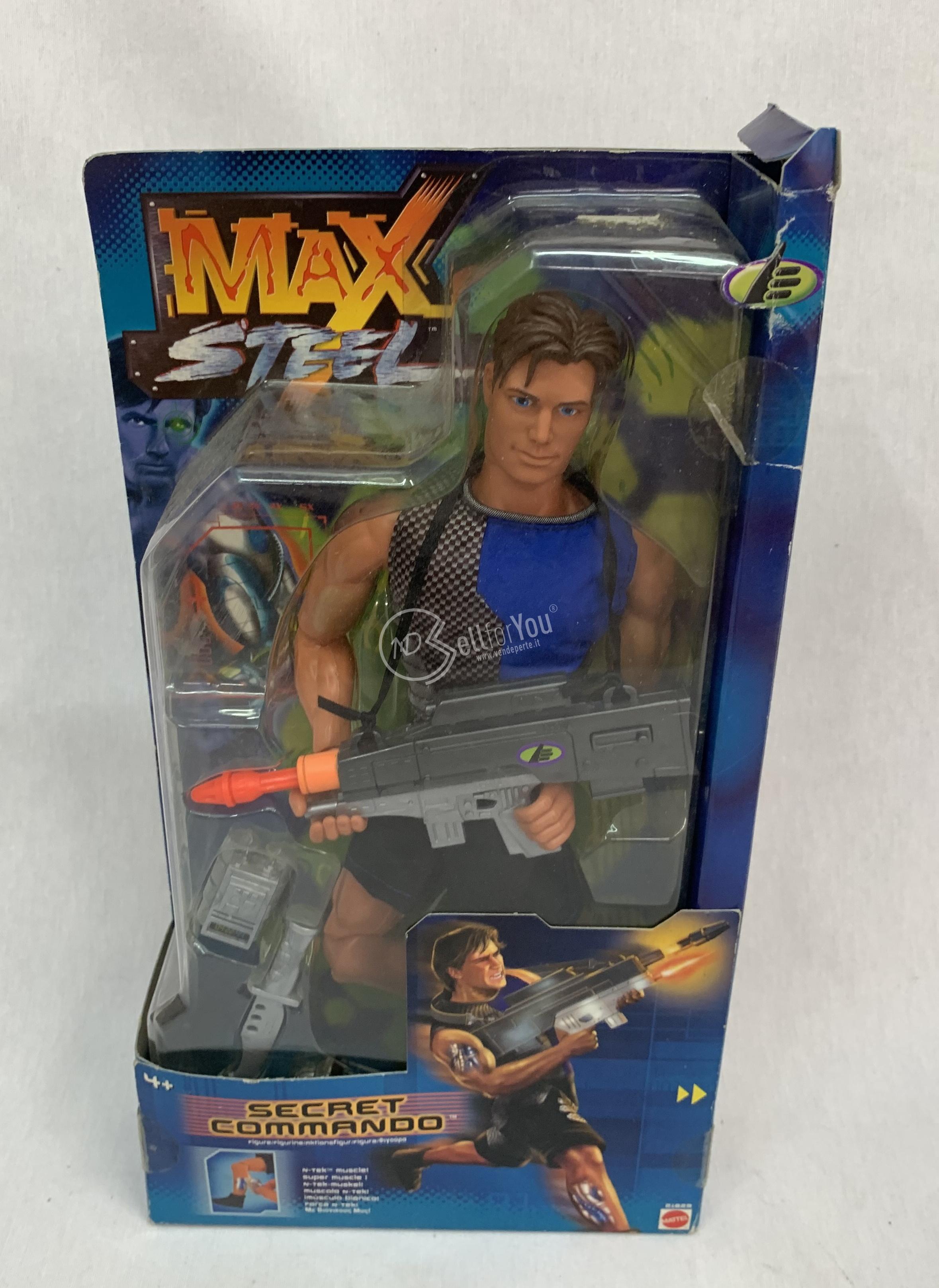 sellforyou immagine default articolo correlato non trovatoMax Steel secret commando - Mattel 21829