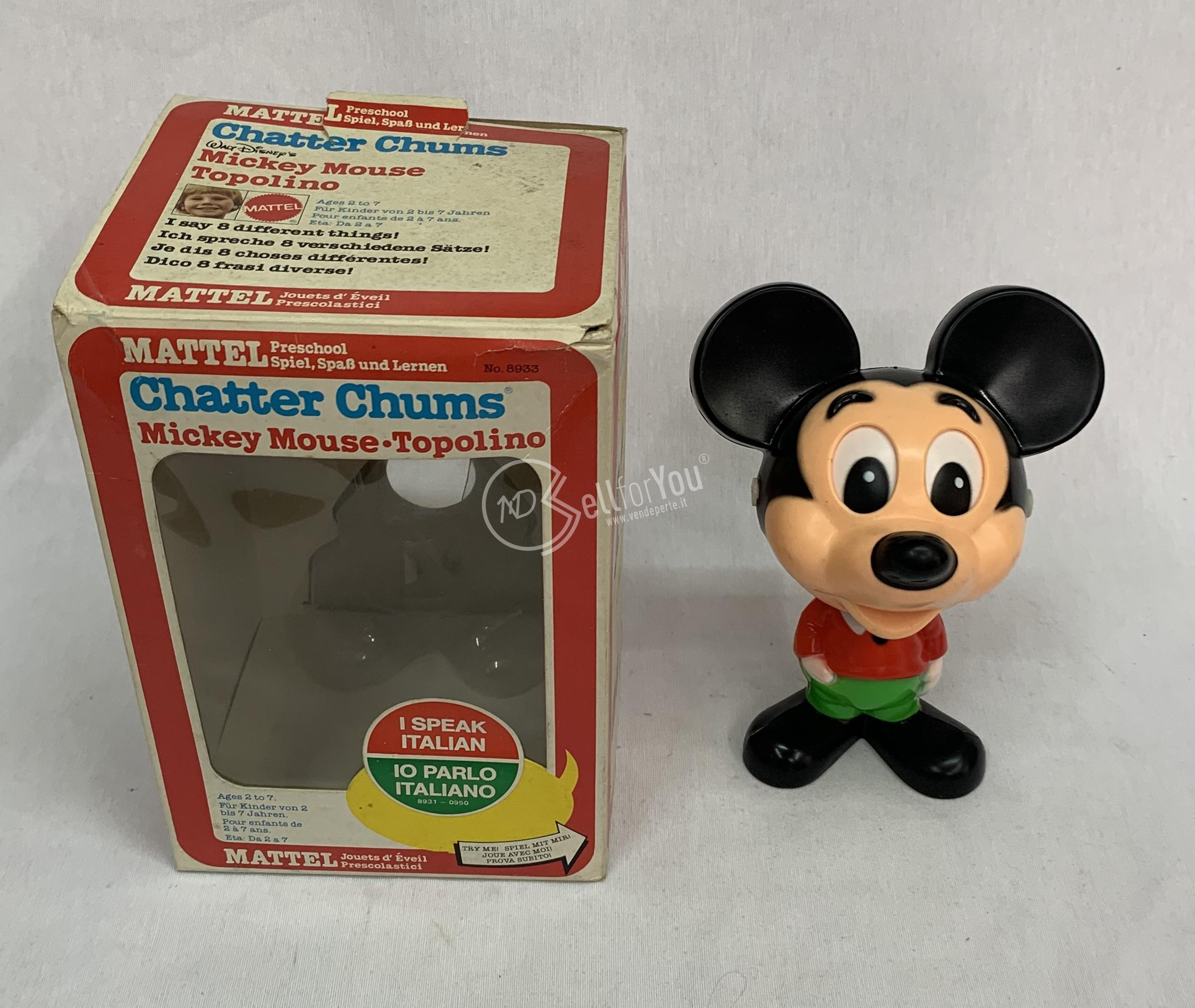 sellforyou immagine default articolo correlato non trovatoMickey mouse Topolino vintage - Mattel 8933