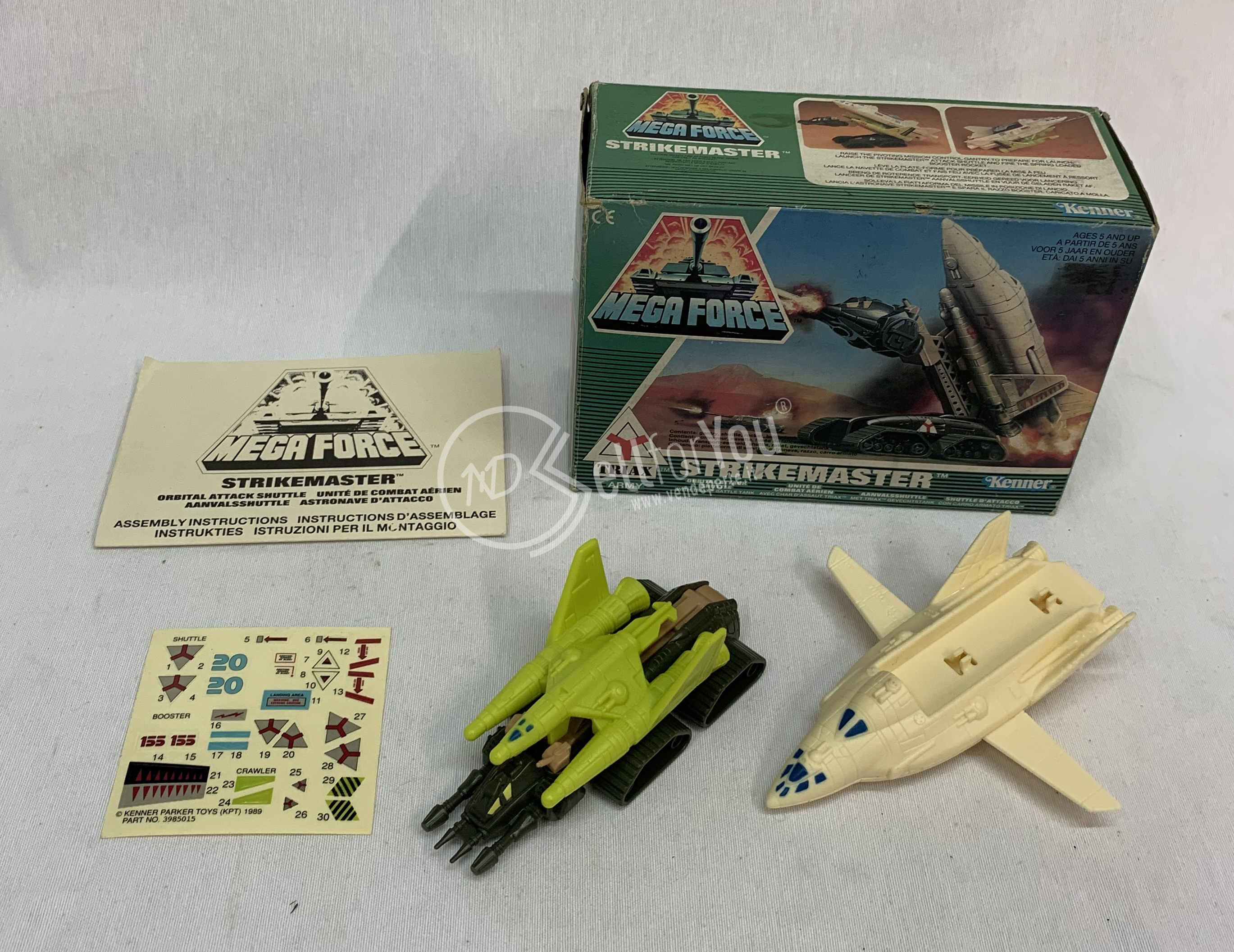 sellforyou immagine default articolo correlato non trovatoStrikemaster mega Force  Kenner anni '80 vintage
