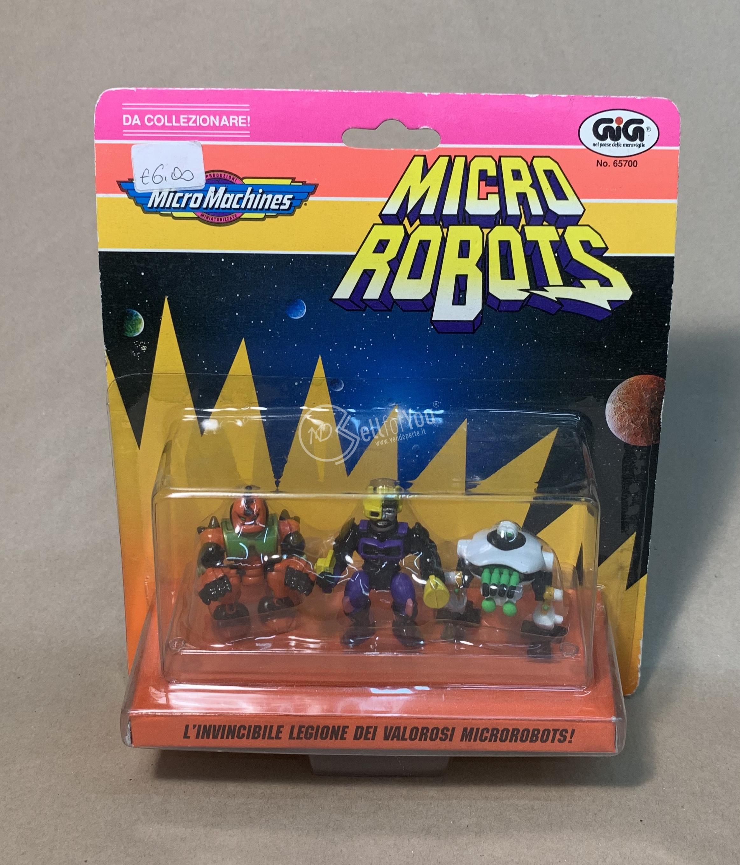 sellforyou immagine default articolo correlato non trovatoMicro machines Micro Robots GiG 65700