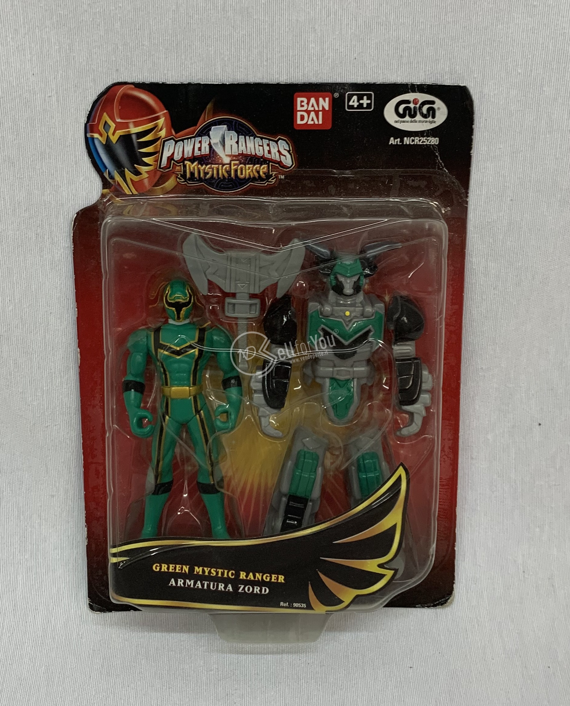 sellforyou immagine default articolo correlato non trovatoPower Ranger mystic force Mystic Tanger armatura Zord GiG