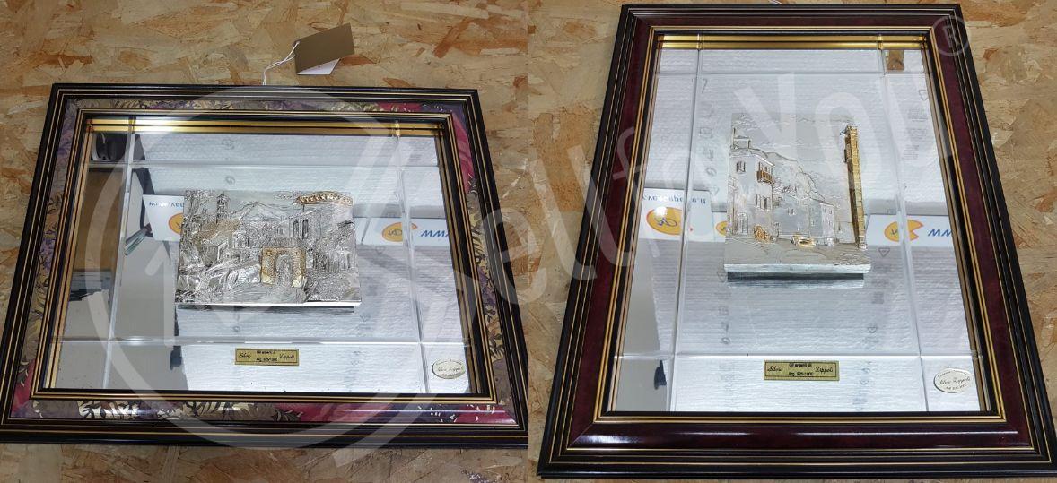 sellforyou immagine default articolo correlato non trovatoDue quadri in argento Silvio Zippoli