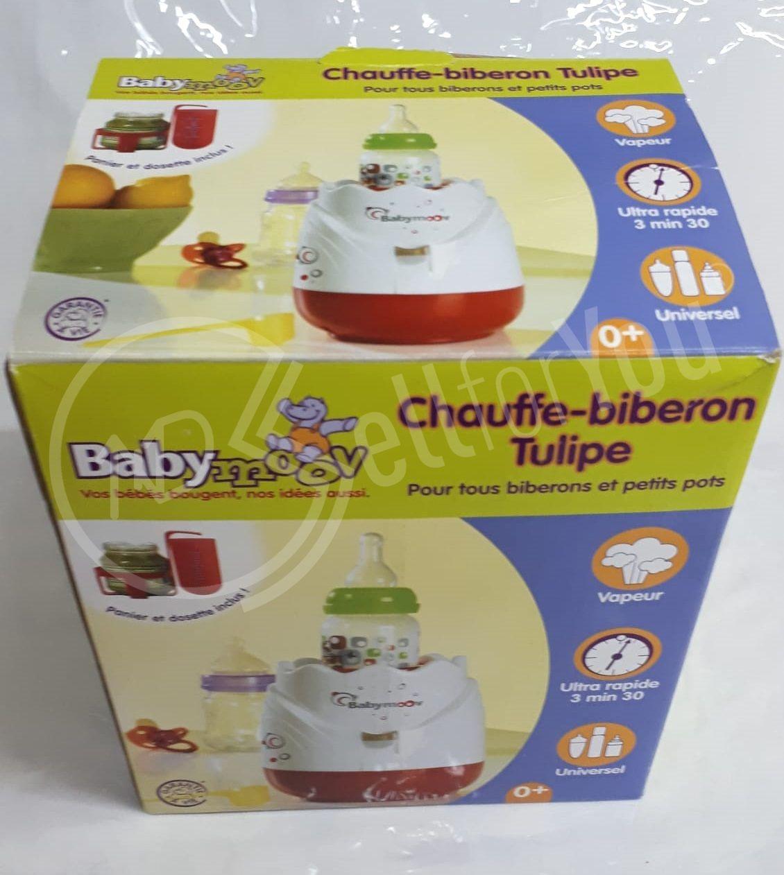 sellforyou immagine articolo Scalda Biberon a vapore Tulipano Baby Moov