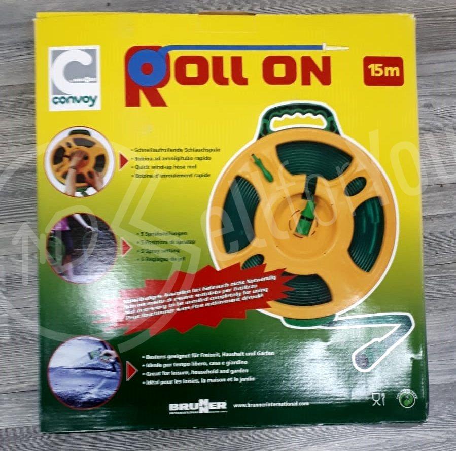 sellforyou immagine articolo Gomma Roll On 15M per Giardino - Brunner avvolgi tubo piatto
