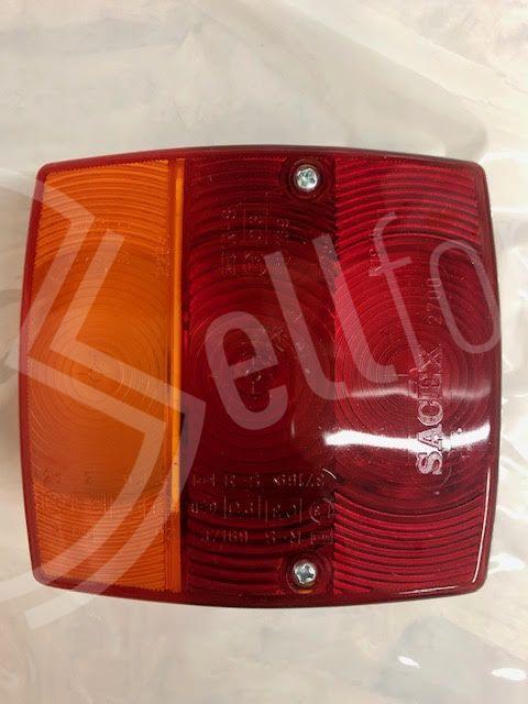 sellforyou immagine articolo Fanale posteriore 3 luci per caravan marca Vecam 37600