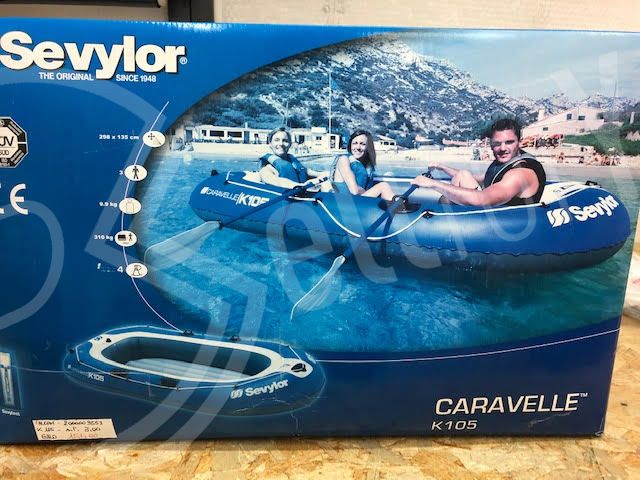 sellforyou immagine articolo Canotto gonfiabile Sevylor mod. Caravelle K105 cod. 209553