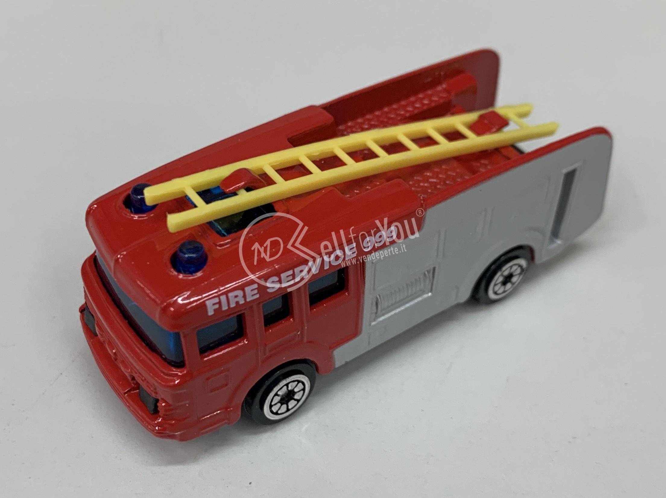 sellforyou immagine articolo Lotto da 200 pz. modellini cammion dei pompieri Corgi