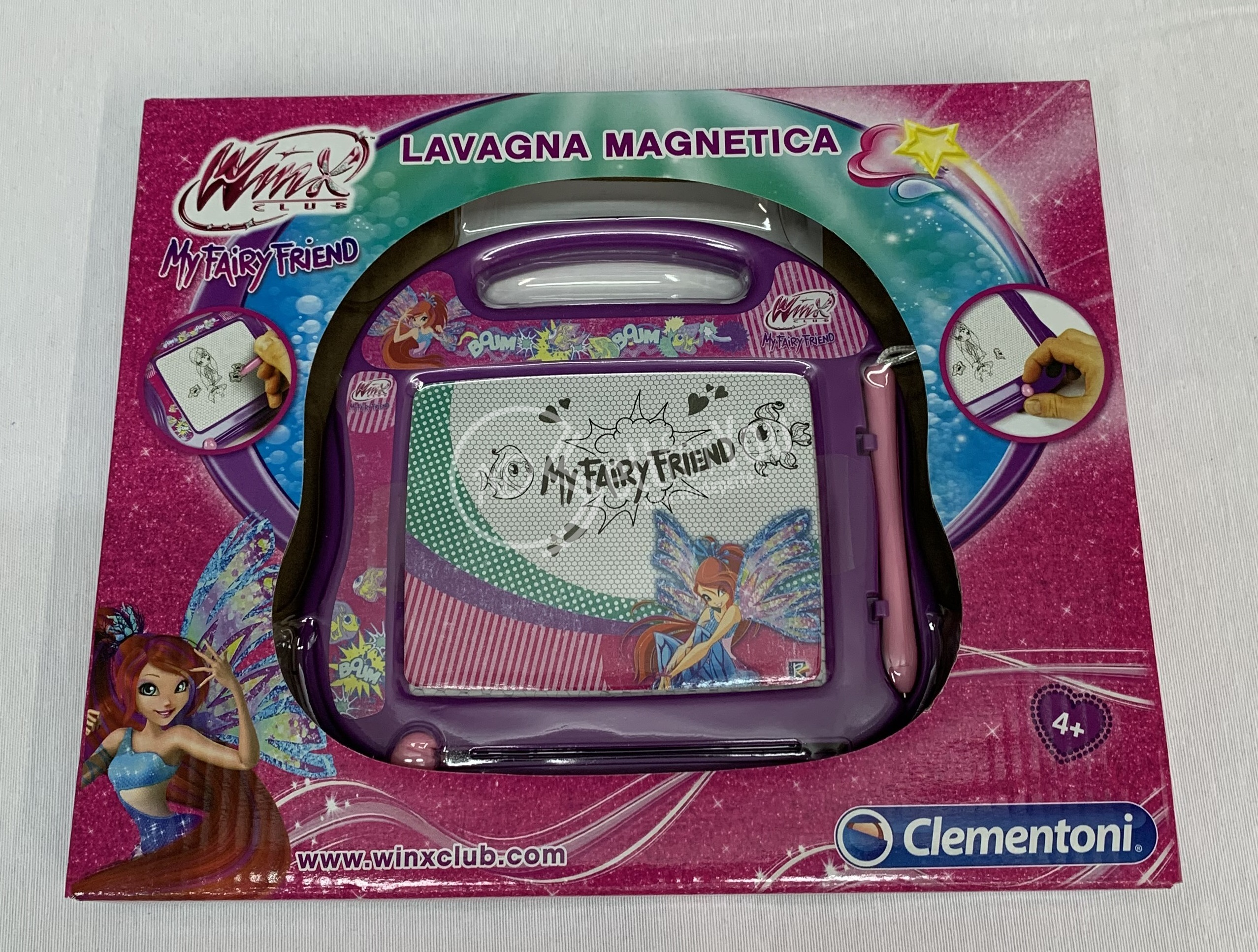 Lavagna magnetica Winx - Clementoni 15785 sellforyou