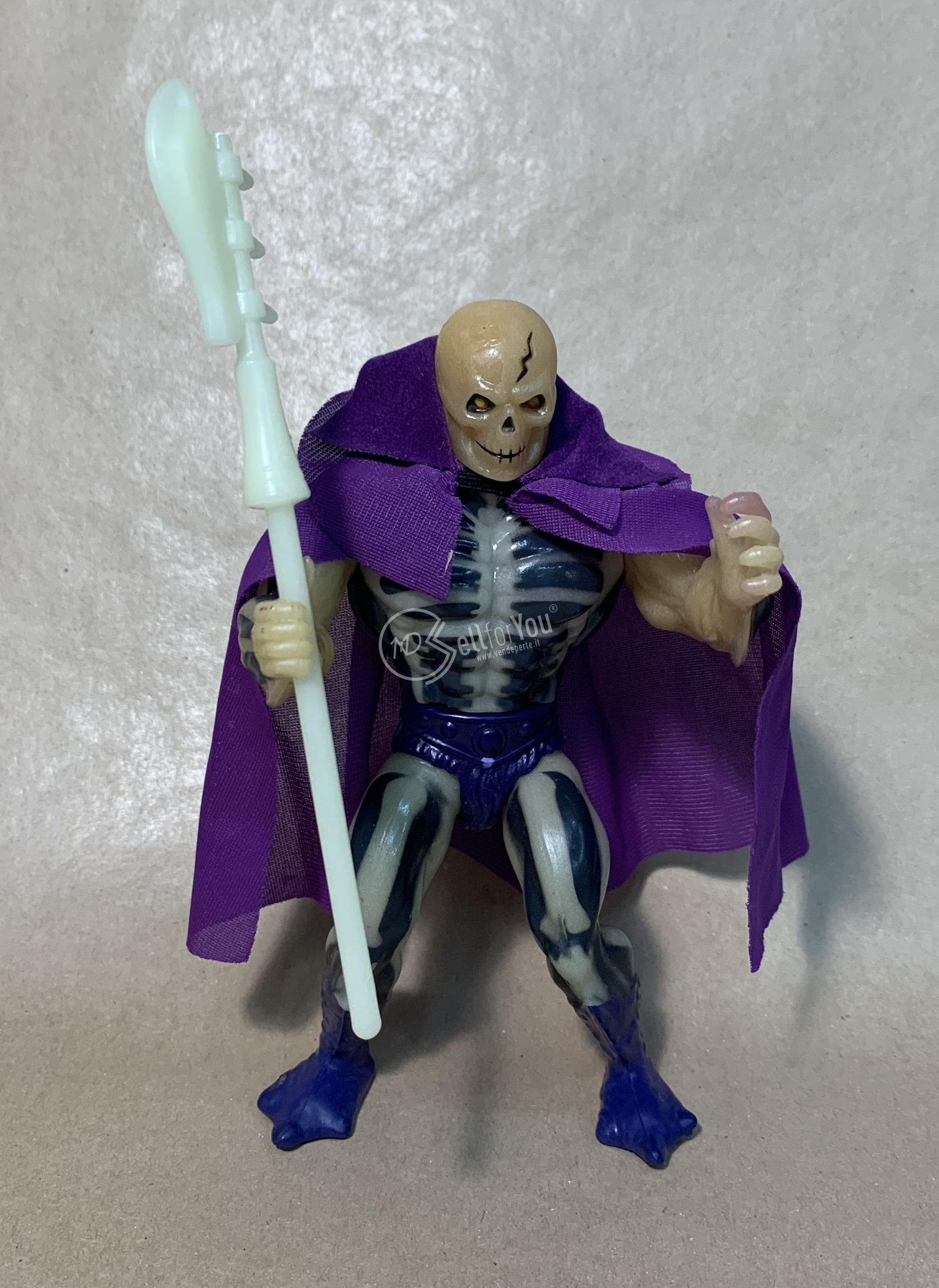 Masters of the Universe Scare Glow anni '80 Mattel     2 sellforyou