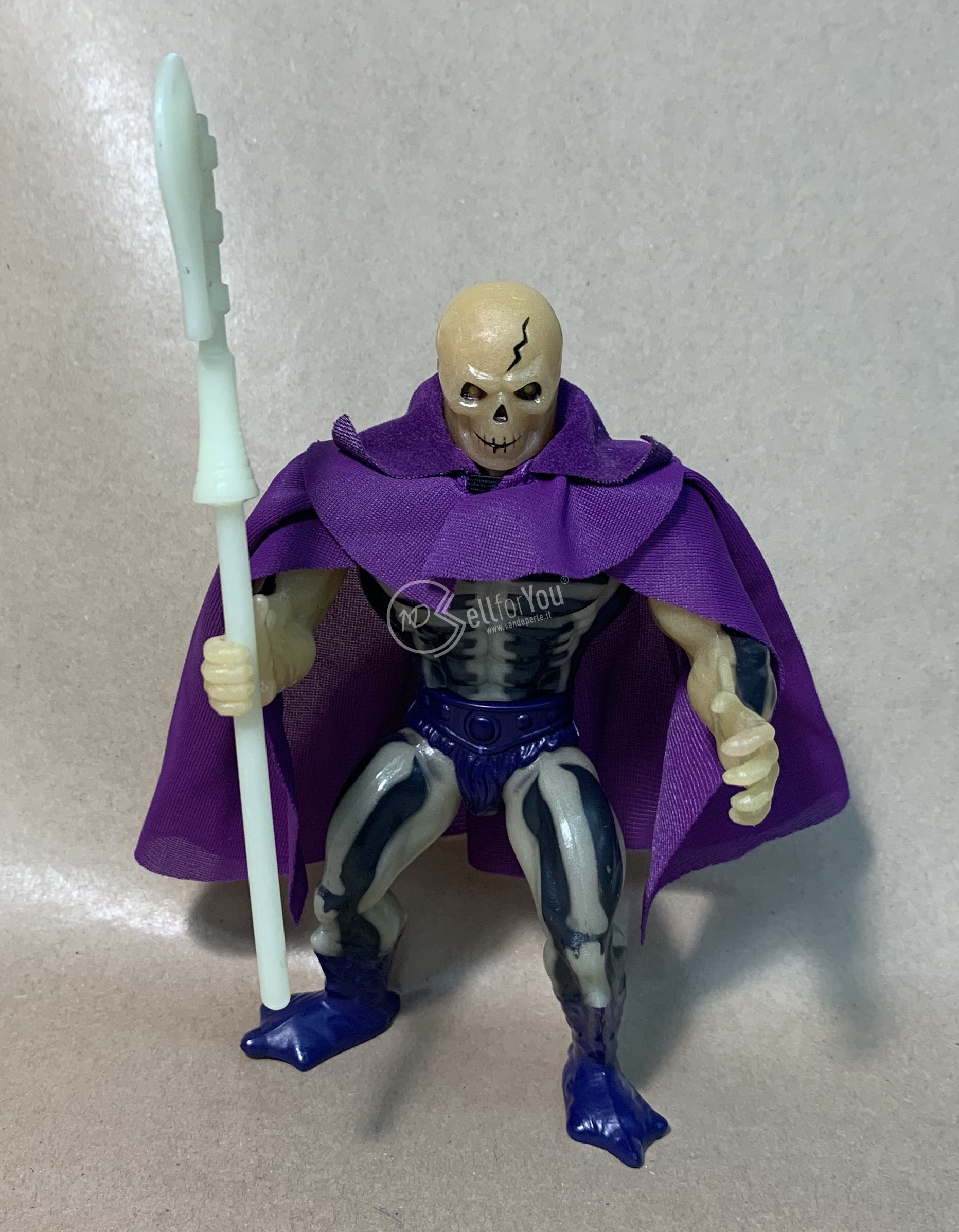Masters of the Universe Scare Glow anni '80 Mattel 5 sellforyou