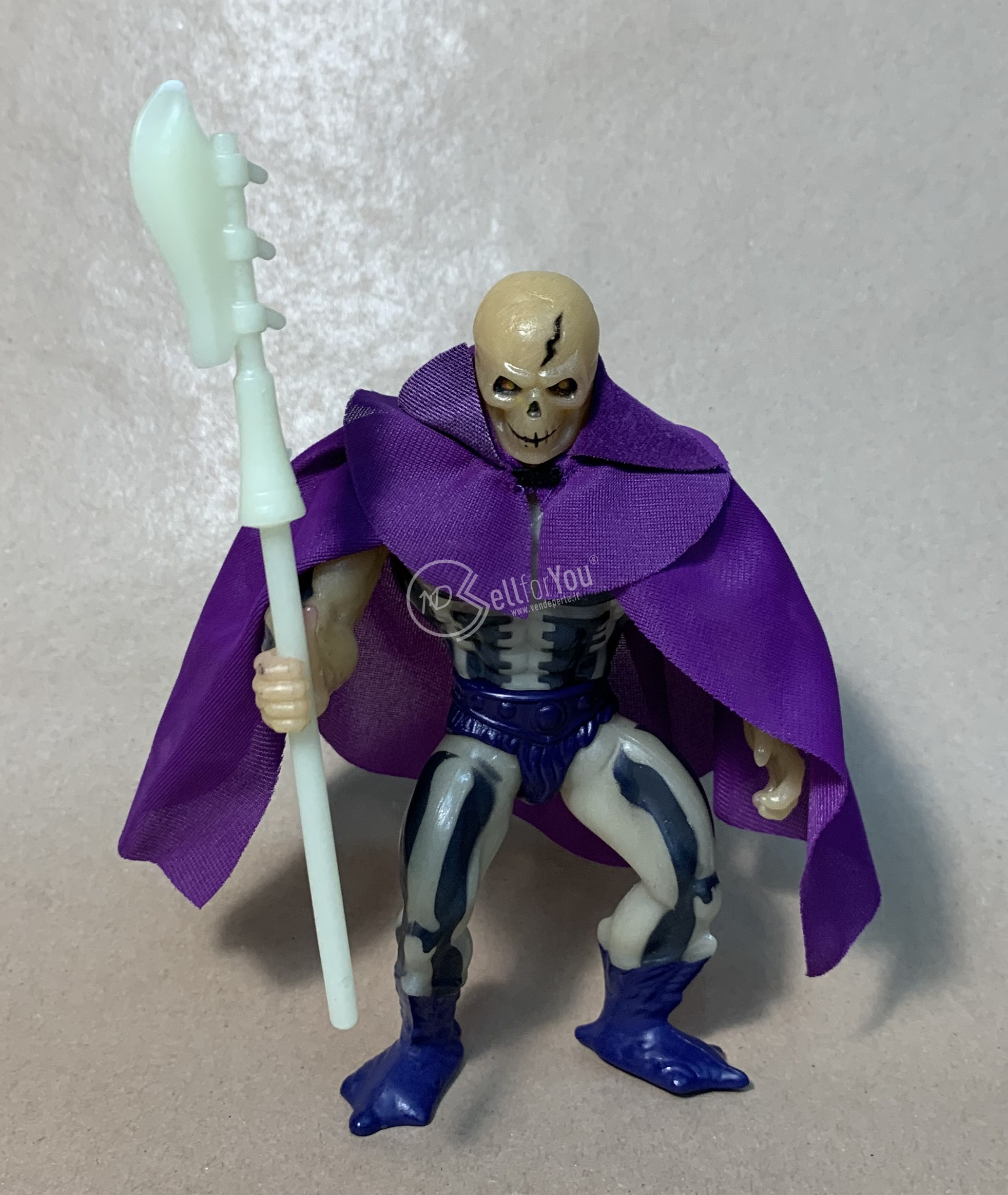 Masters of the Universe Scare Glow anni '80 Mattel 7 sellforyou