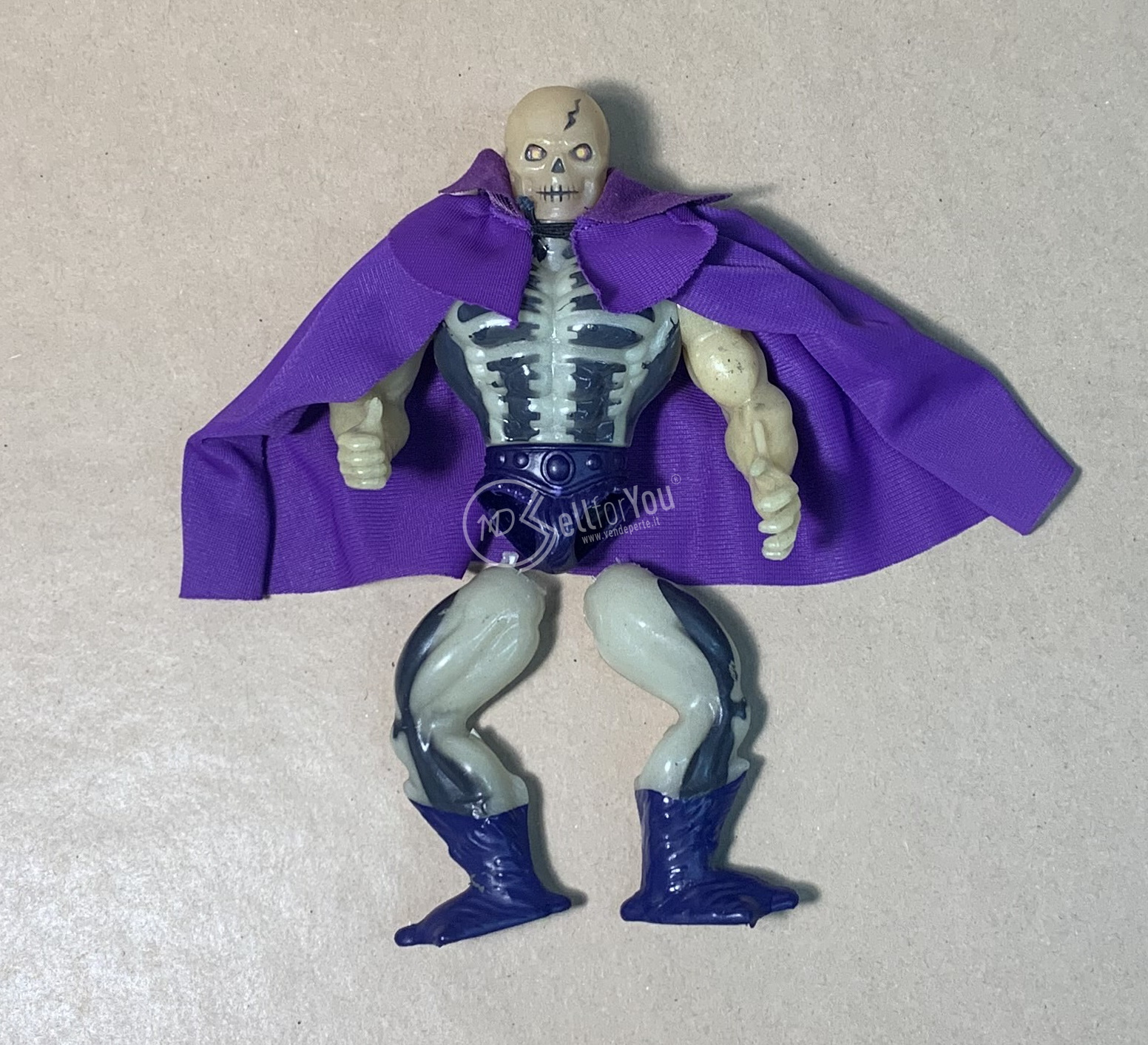 Masters of the Universe Scare Glow anni '80 Mattel 11 sellforyou
