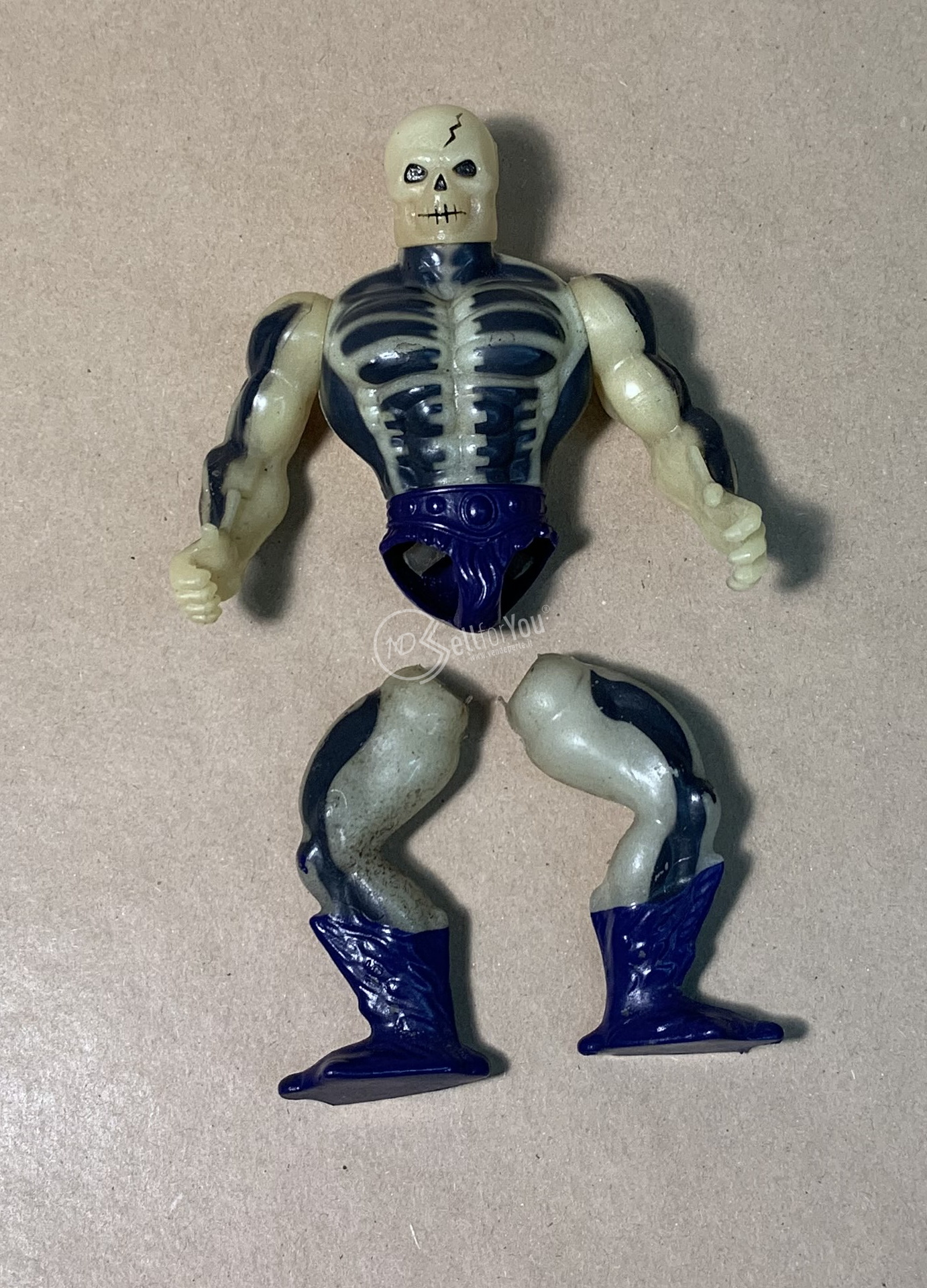 Masters of Universe Scare Glow anni '80 Mattel 13 sellforyou