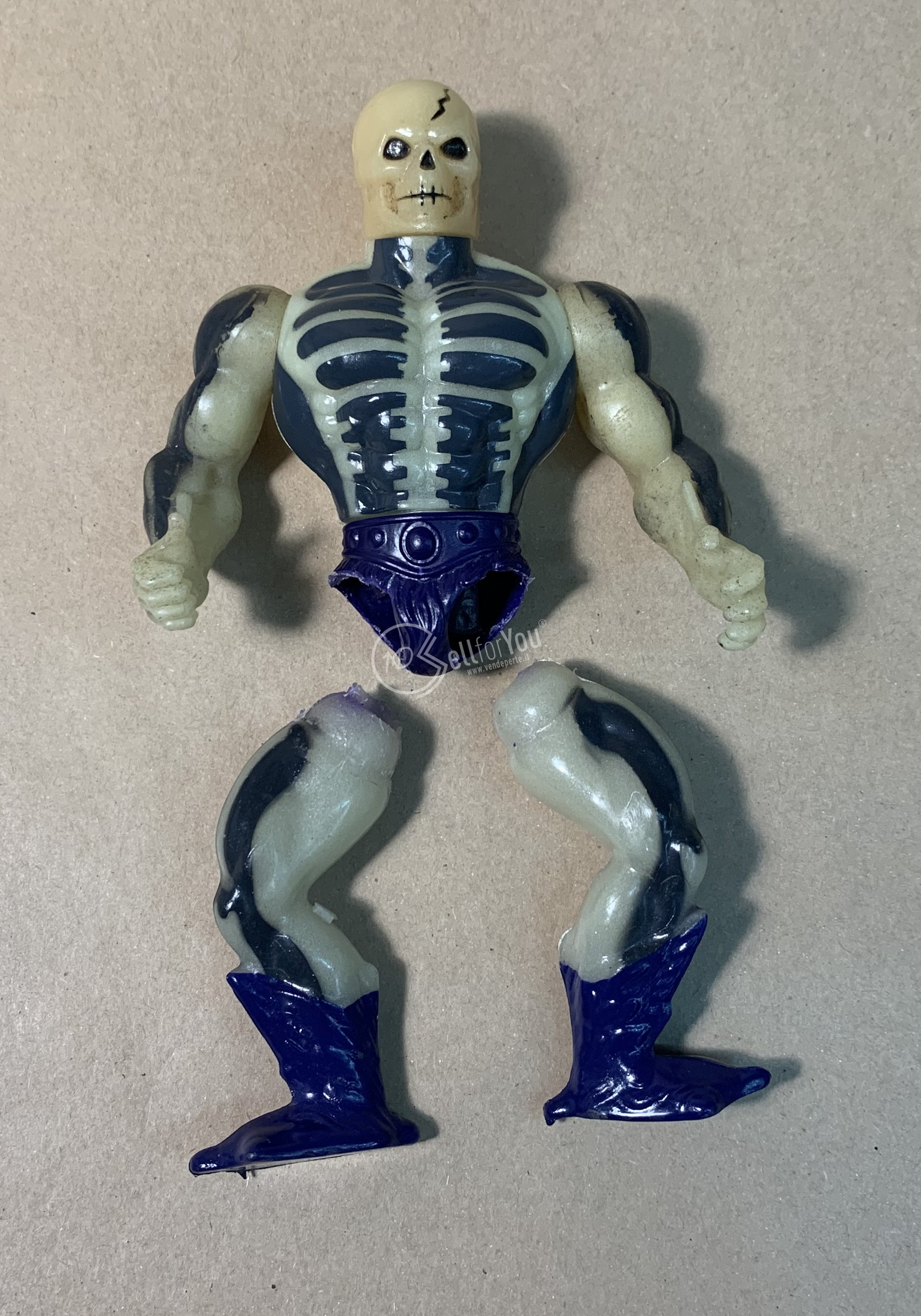 Masters of the Universe Scare Glow anni '80 Mattel 14 sellforyou