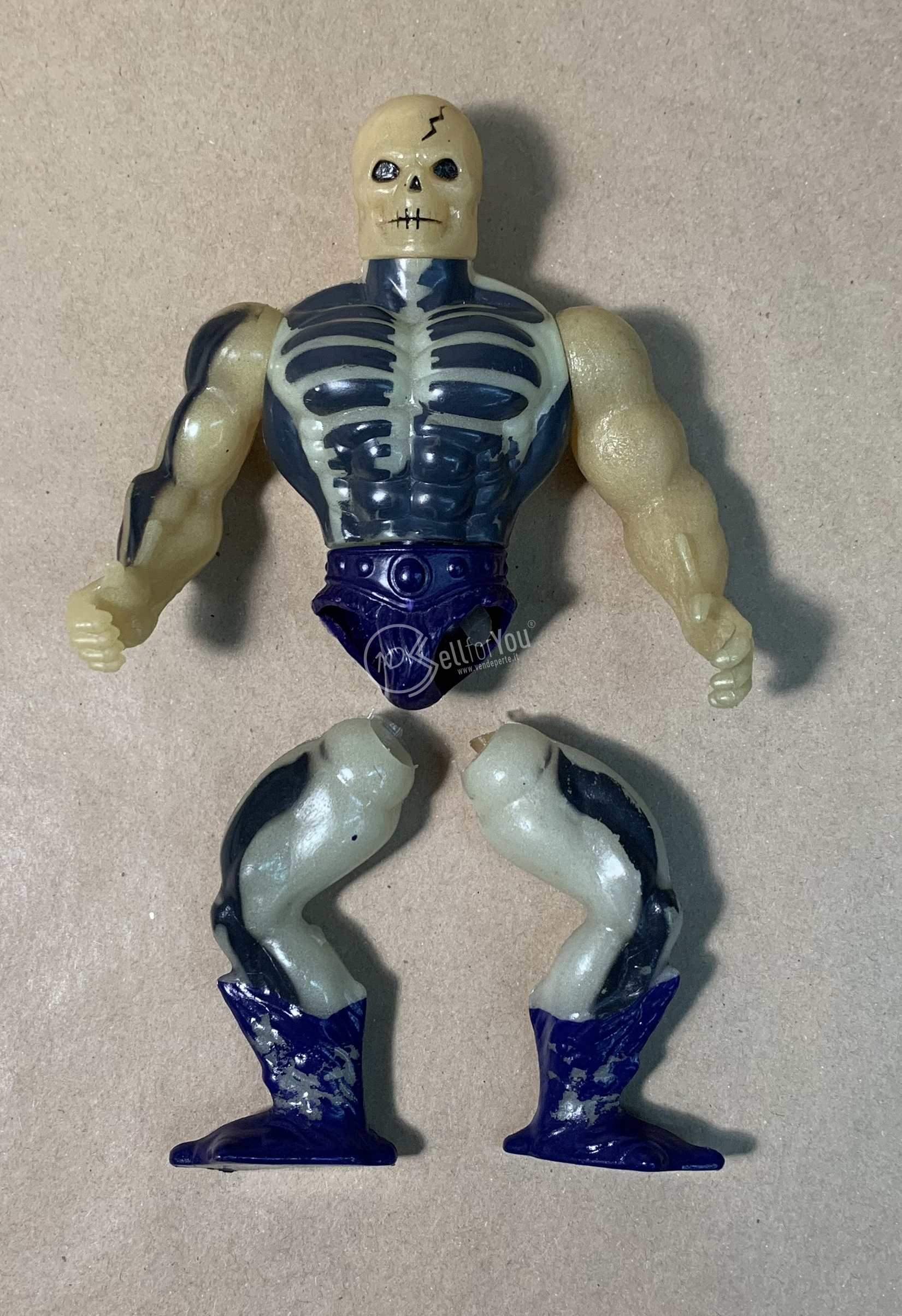 Masters of the Universe Scare Glow anni '80 Mattel 19 sellforyou