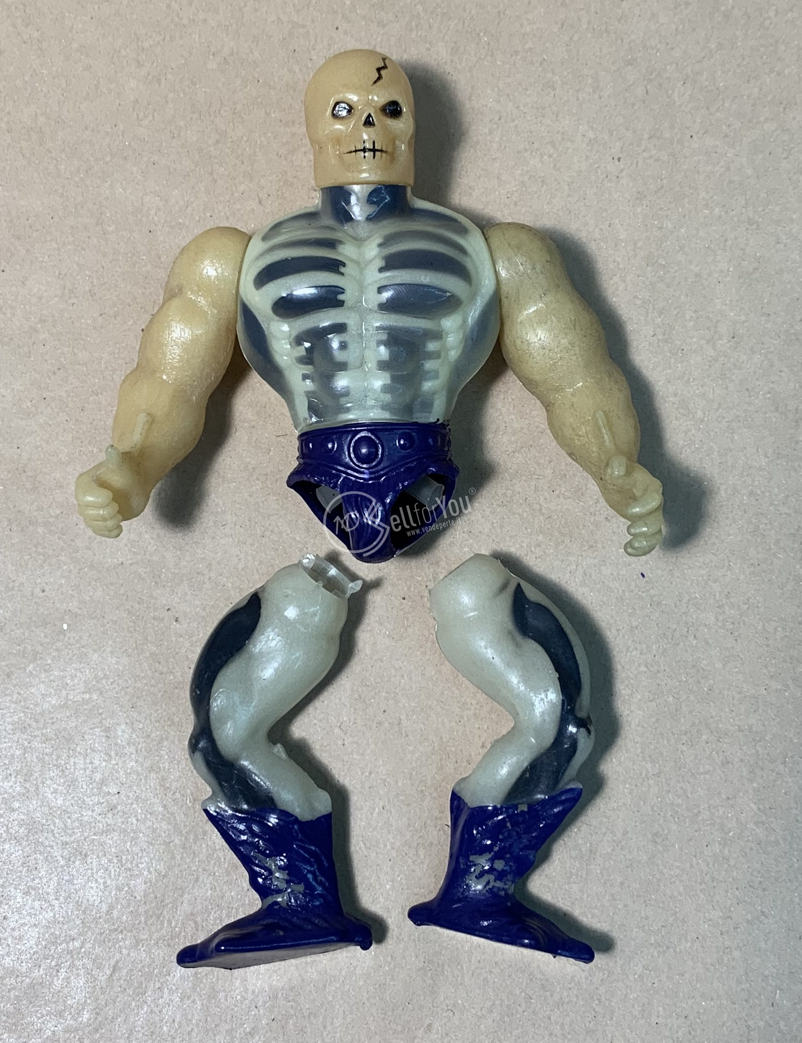 Masters of the Universe Scare Glow anni '80 Mattel 21 sellforyou