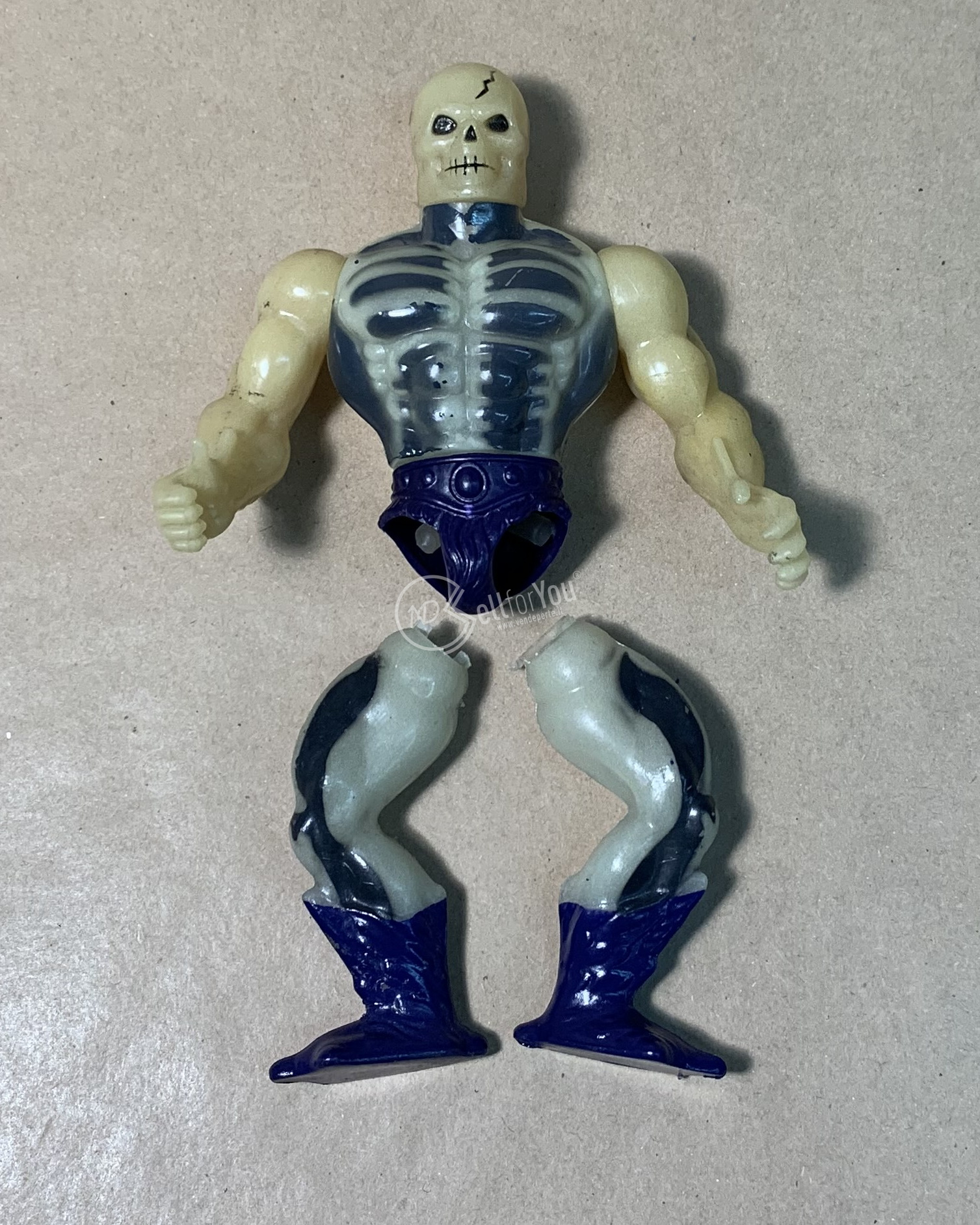Masters of the Universe Scare Glow anni '80 Mattel 22 sellforyou