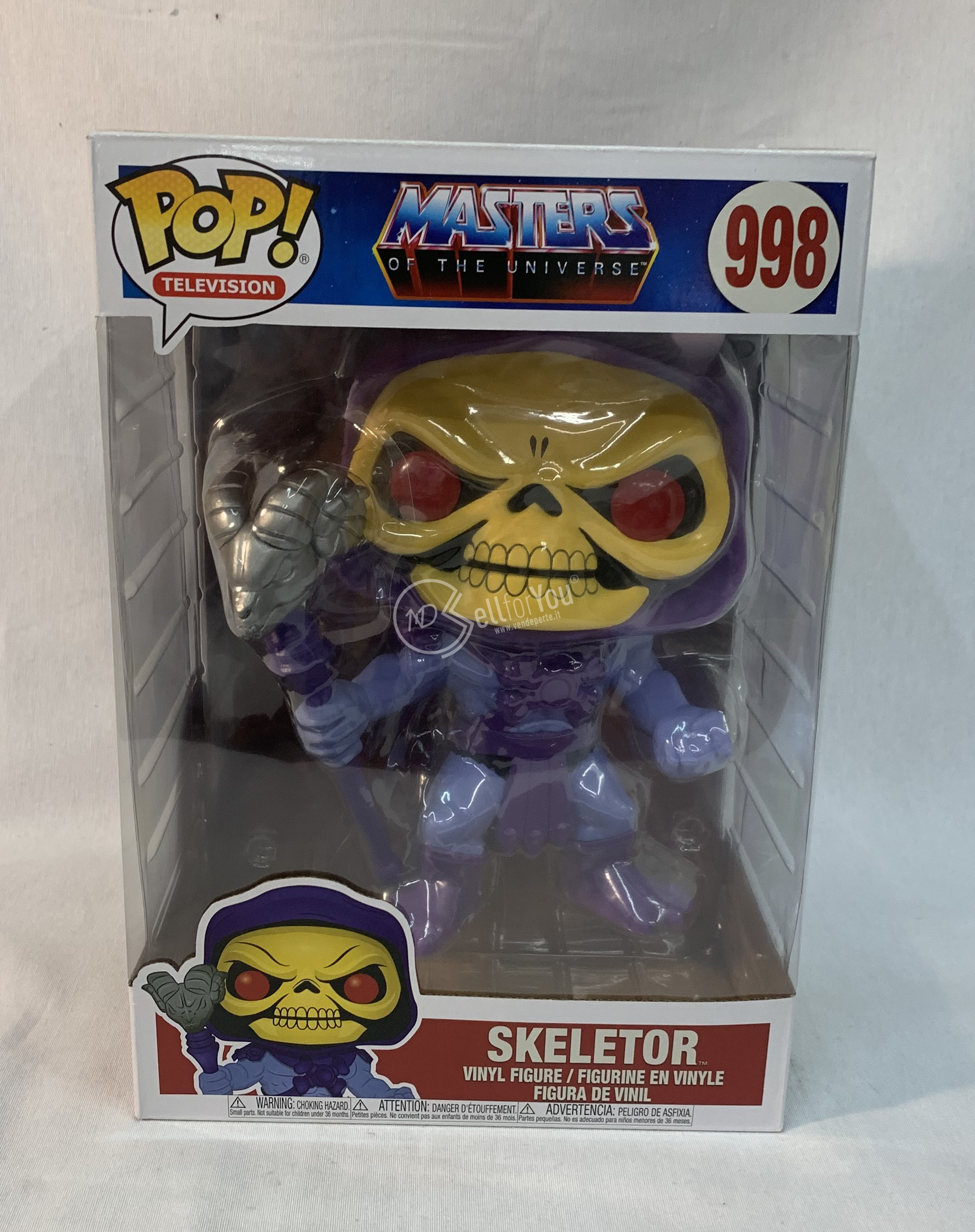 Masters of the Universe Funko Pop Skeletor 998 sellforyou